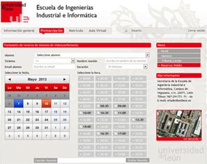 Interfaz con WebEx
