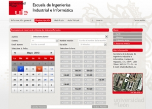 Creada interfaz con WebEx para la Universidad de León